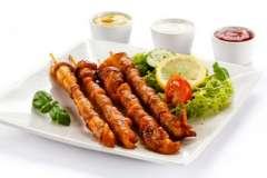 Вкусные рецепты: Шашлык гранатовый, Морковный Кекс (carrot cake), расстегаи